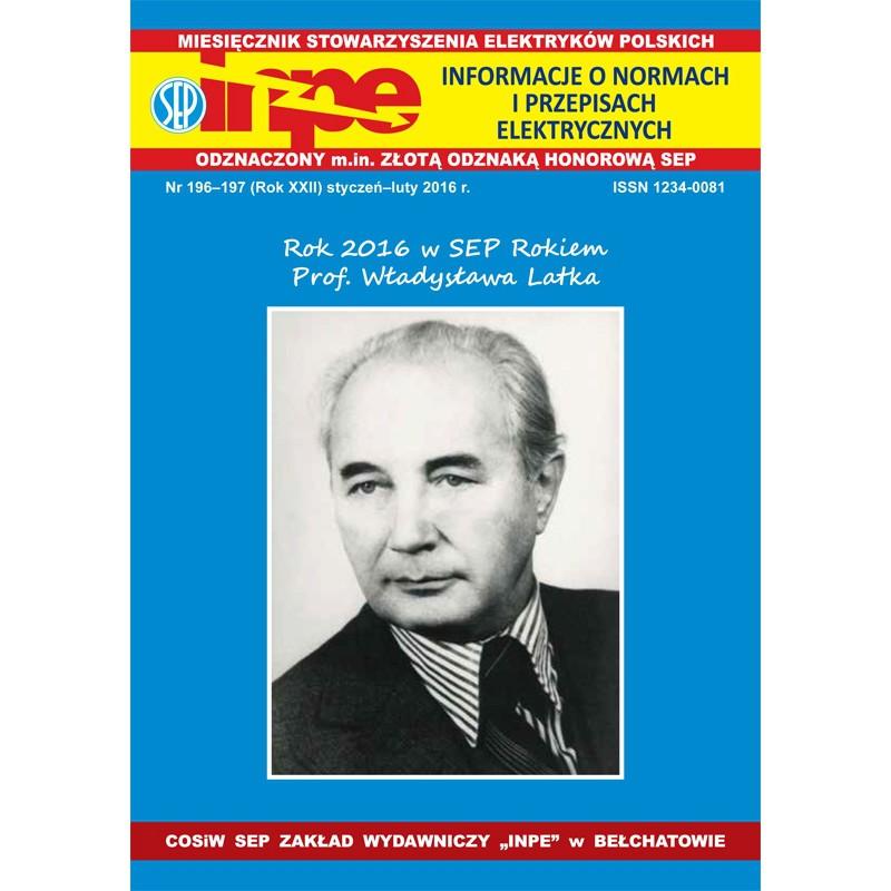 Miesięcznik SEP INPE, nr 196-197 - wersja elektroniczna