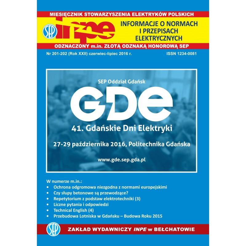 Miesięcznik SEP INPE, nr 201-202 - wersja papierowa