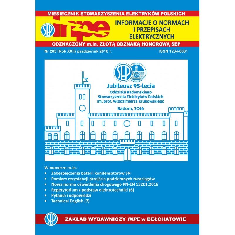 Miesięcznik SEP INPE, nr 205 - wersja elektroniczna