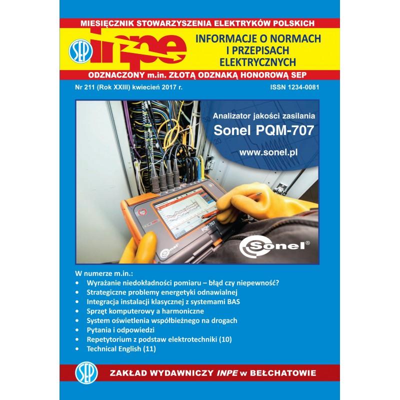 Miesięcznik SEP INPE, nr 211 - wersja papierowa