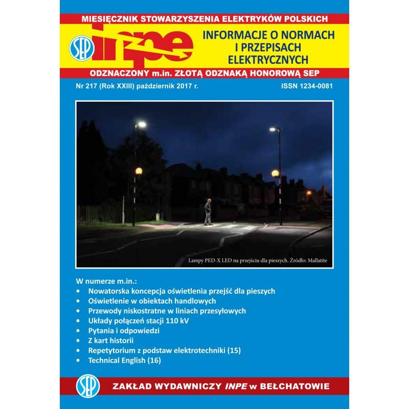Miesięcznik SEP INPE, nr 217 - wersja elektroniczna