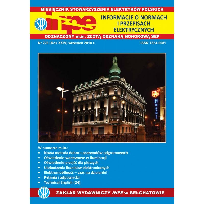 Miesięcznik SEP INPE, nr 228 - wersja elektroniczna