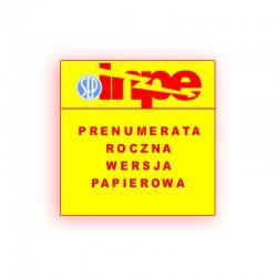 Prenumerata papierowa normalna na rok 2019