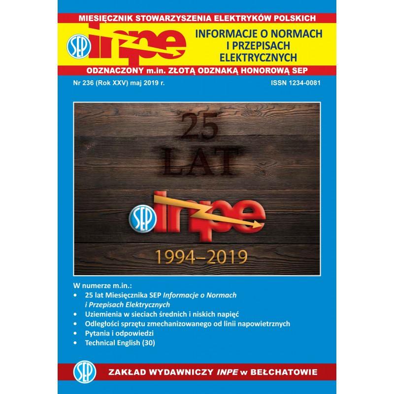 Miesięcznik SEP INPE, nr 236 - wersja papierowa