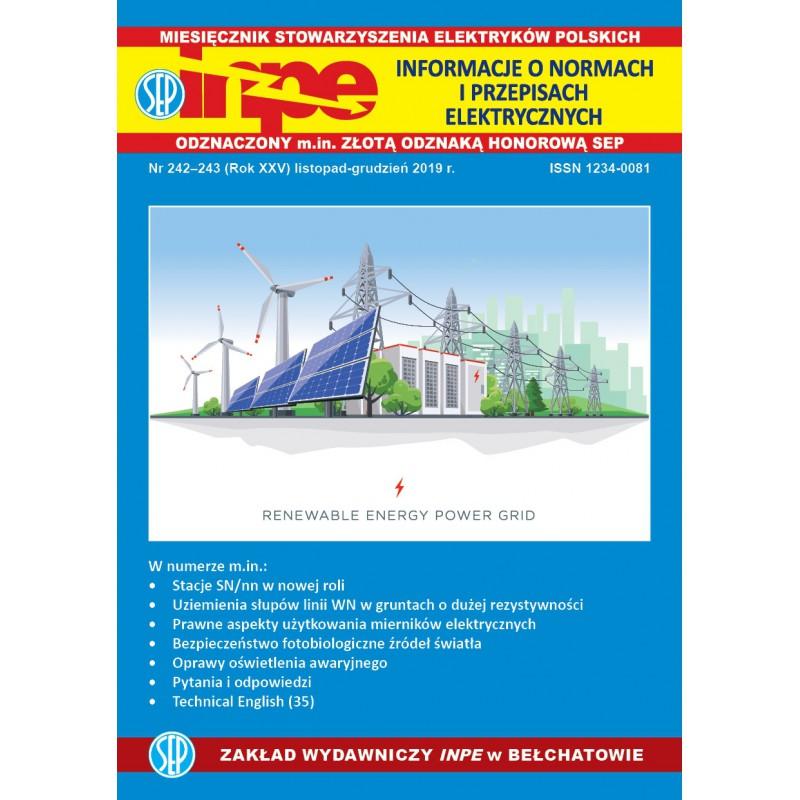 Miesięcznik SEP INPE, nr 242-243 - wersja elektroniczna