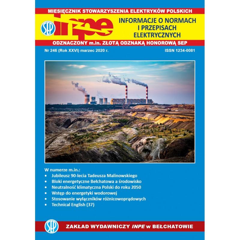 Miesięcznik SEP INPE, nr 246 - wersja elektroniczna