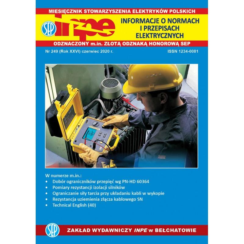 Miesięcznik SEP INPE, nr 249 - wersja papierowa