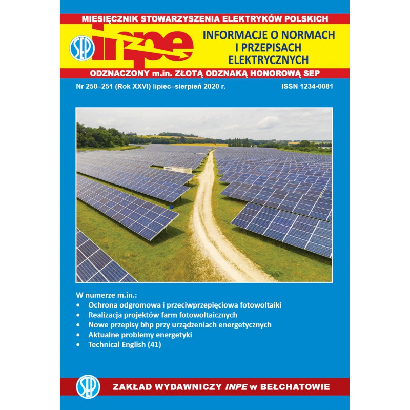 Miesięcznik SEP INPE, nr 250-251 - wersja elektroniczna