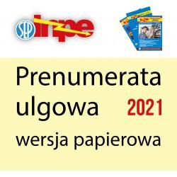 Prenumerata papierowa ulgowa na rok 2021