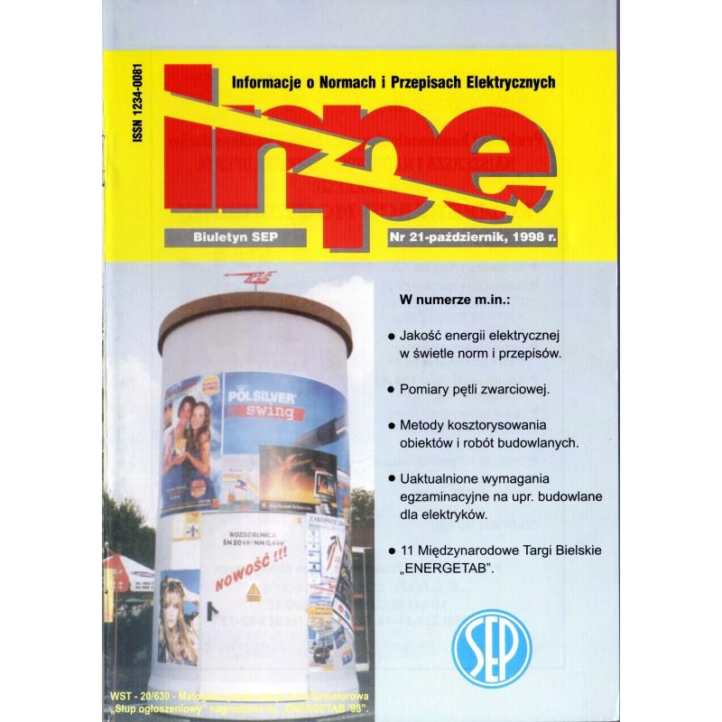 Biuletyn SEP INPE, nr 21 - wersja papierowa